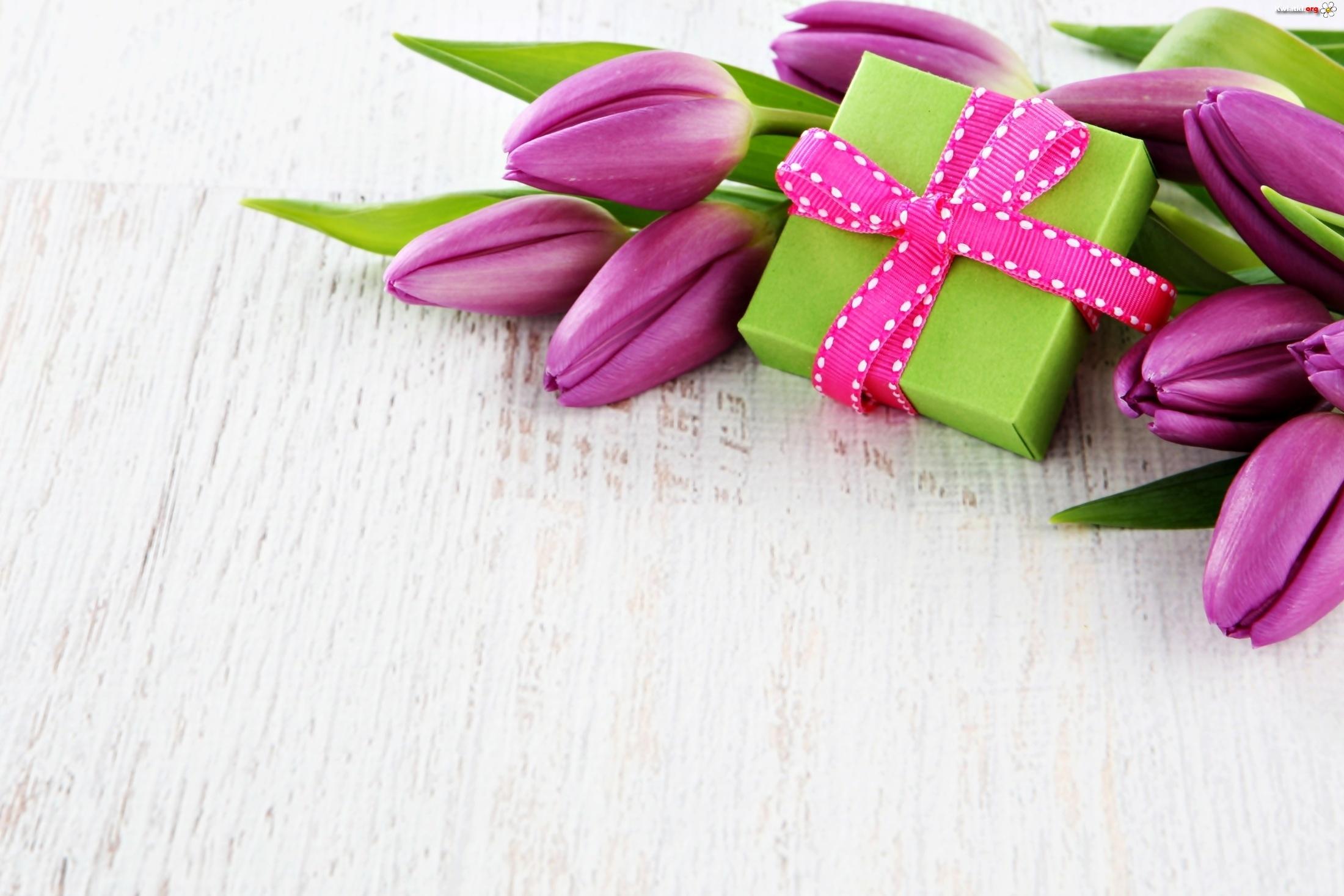 tulipany prezent dzień matki podziękowanie urodziny zdjęcia